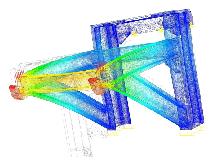 analysis of the strength of the Finite Element Method (FEM)
