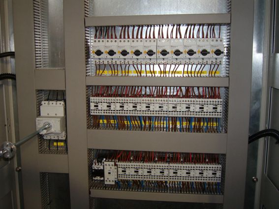 controlgear cabinet supply